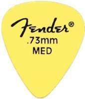 Набор медиаторов Fender Matte Derlin Pickpacks 12 Yellow (098-7351-800)