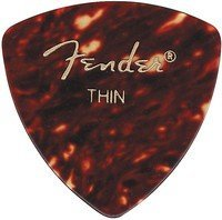 Набор медиаторов Fender 346 Shell Thin (098-0346-700)
